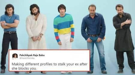 sanju, ranbir kapoor, sanju teaser, sanju trailer, sanjay dutt biopic, sanjay dutt, rajkumar hirani, sonam kapoor, anushka sharma, twitter reactions, indian express, indian express trending news