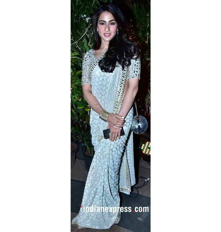 Aishwarya Rai Bachchan, Aishwarya Rai Bachchan latest photos, Aishwarya Rai Bachchan fashion, Sonam Kapoor, Sonam Kapoor fashion, Sara Ali Khan, Sara Ali Khan fashion, sandeep khosla niece wedding, indian express, indian express news
