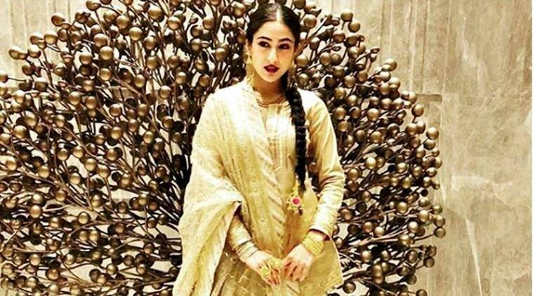 Sara Ali Khan, Sara Ali Khan ethnic wear, Abu Jani Sandeep Khosla, Sara Ali Khan Abu Jani Sandeep Khosla, Sara Ali Khan fashion, Sara Ali Khan style, Sara Ali Khan latest photos, Sara Ali Khan latets news, celeb fashion, bollywood fashion, indian express, indian express news