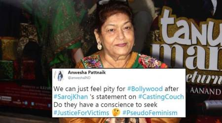 Saroj Khan apologises for normalising casting couch in Bollywood; but Twitterati still furious
