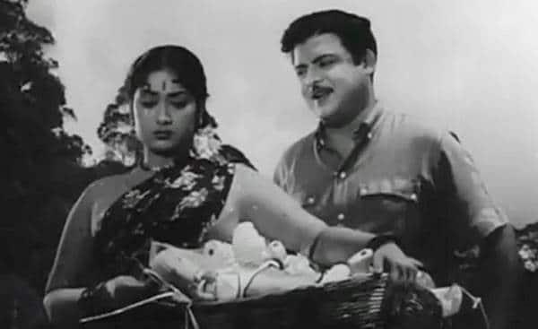 Savitri and Gemini Ganesan