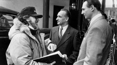 Steven Spielberg, Liam Neeson and Ben Kingsley revisit Schindler's List in an emotional reunion