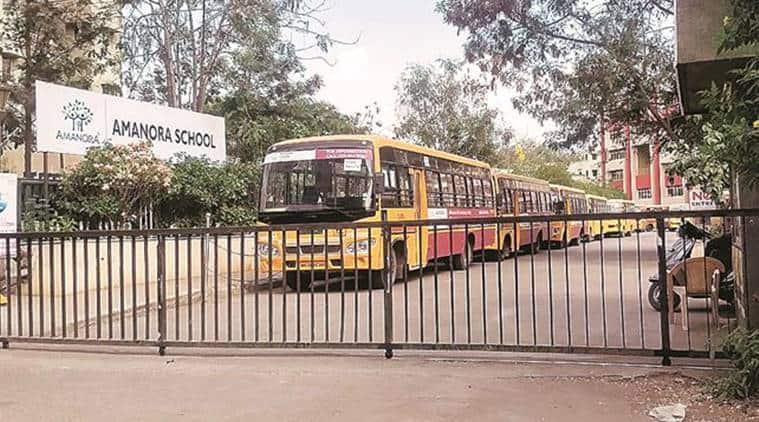 pune school discrimination, pune parents allege discrimination, pune school fee hike, Amanora School, Hadapsar, indian express, maharashtra news