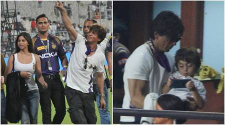 IPL 2018: KKR beats RCB, Shah Rukh Khan celebrates with daughter Suhana, see photos