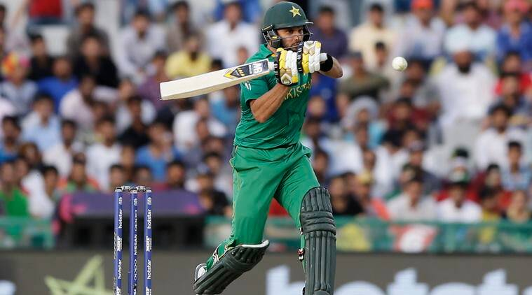 Shahid Afridi, Shoaib Malik, Thisara Perera, Eoin Morgan, World XI vs West Indies, Carlos Brathwaite, sports news, cricket, Indian Express