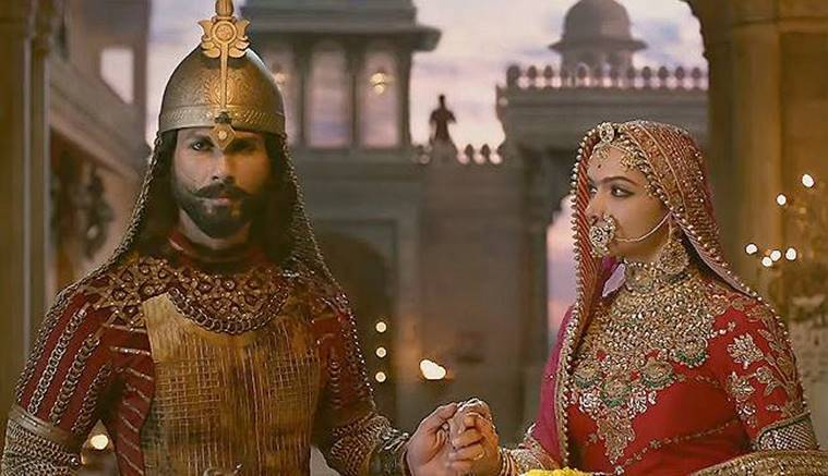 The Deepika Padukone-starrer 'Padmaavat', based on the saga of a historic 13th century battle between Maharaja Ratan Singh and his army of Mewar and Sultan Alauddin Khilji of Delhi, has Shahid Kapoor and Ranveer Singh in lead roles.