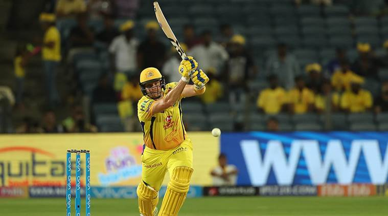 Shane Watson slams third IPL hundred, second of the tournament