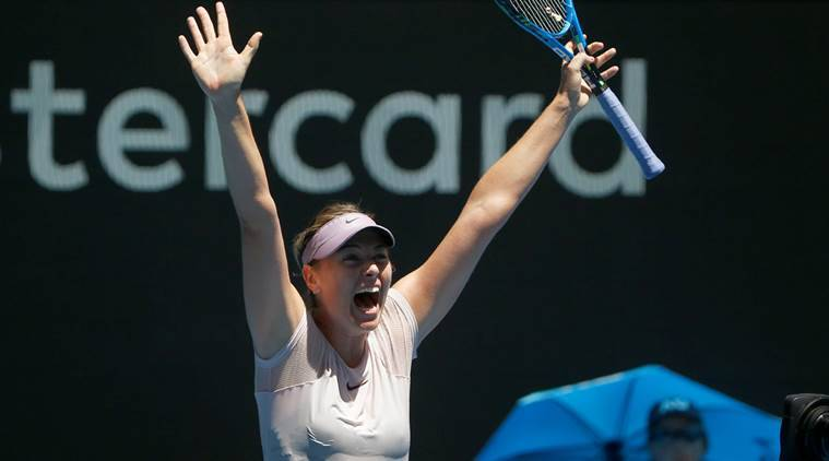 Maria Sharapova, Maria Sharapova news, Maria Sharapova updates, Maria Sharapova matches, sports news, tennis, Indian Express
