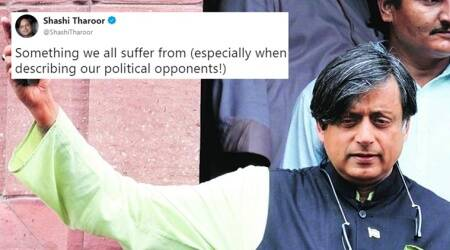 Shashi Tharoor tweet-ictionary: Here's today's word-lesson, described with a pinch of salt