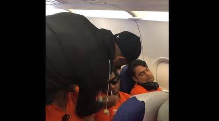 Video: When Shikhar Dhawan pranked his IPL teammates Shakib Al Hasan and Rashid Khan on flight