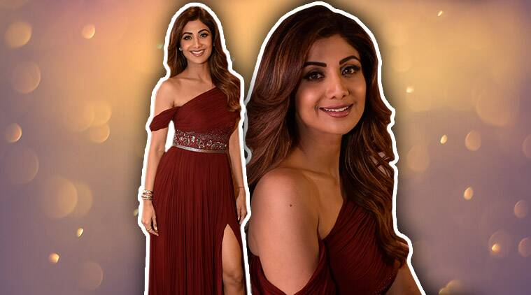 Shilpa Shetty, Shilpa Shetty gowns, Aroka, Shilpa Shetty Aroka Shilpa Shetty fashion, Shilpa Shetty style, Shilpa Shetty latest photos, Shilpa Shetty latest news, Shilpa Shetty images, Shilpa Shetty pictures, Shilpa Shetty updates, celeb fashion, bollywood fashion, indian express, indian express news