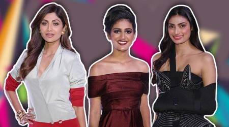Shilpa Shetty, Athiya Shetty, Priya Prakash Varrier pack a punch in statement wear at this award ceremony