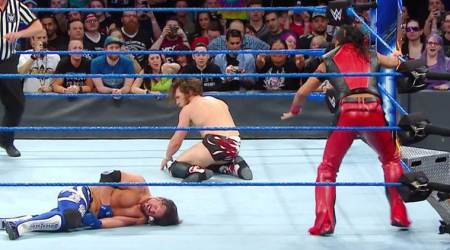 WWE Smackdown Live Results: Shinsuke Nakamura launches vicious assault on AJ Styles, Daniel Bryan