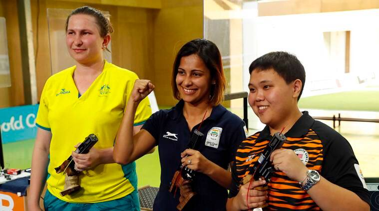 CWG: Heena Sidhu adds third gold to India's shooting kitty