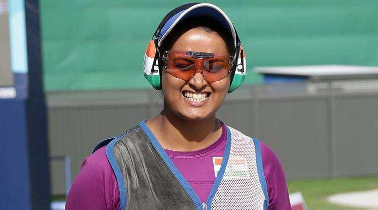 shreyasi singh cwg 2018 gold medal double trap shooting