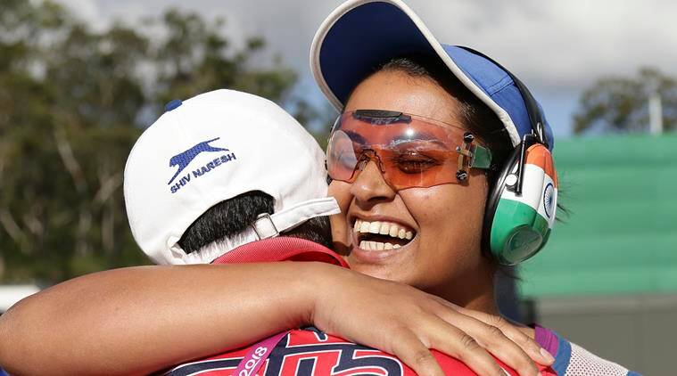Shooter Shreyasi Singh Finishes Fifth in Women's Trap Shooting
