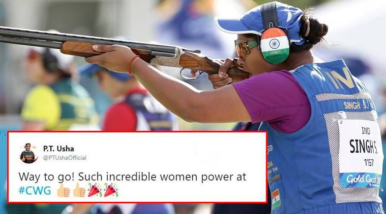 Commonwealth games, Shreyasi Singh, Shreyasi Singh gold medal, Shreyasi Singh gold medal in Women's Double Trap, CWG 2018, Shreyasi Singh cwg gold,