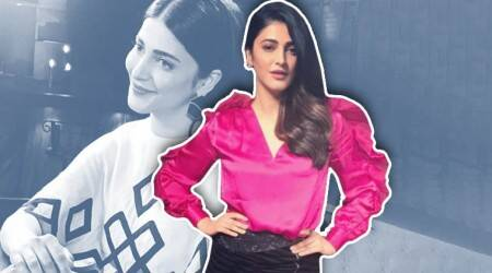 Shruti Haasan's latest looks are just the inspiration you need for a partyoutfit