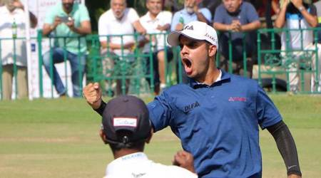 Shubhankar Sharma hopes to inspire India's next generation with strong show at Augusta Masters