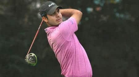 Shubhankar Sharma, Shubhankar Sharma news, Shubhankar Sharma updates, Shubhankar Sharma matches, sports news, golf, Indian Express