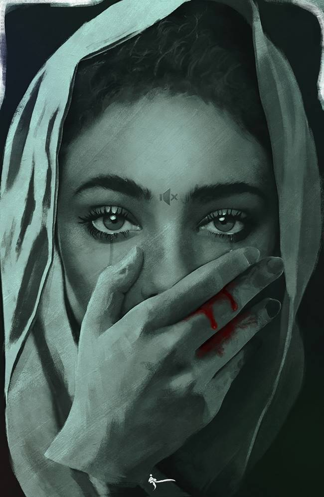 Depression, stress awareness month, ​ Sief Hamza, ​ Sief Hamza facebook, ​ Sief Hamza paintings, ​ Sief Hamza drawings, ​ Sief Hamza artist, ​ Sief Hamza fight against depression, Indian express, viral paintings, art and culture, amateur painters