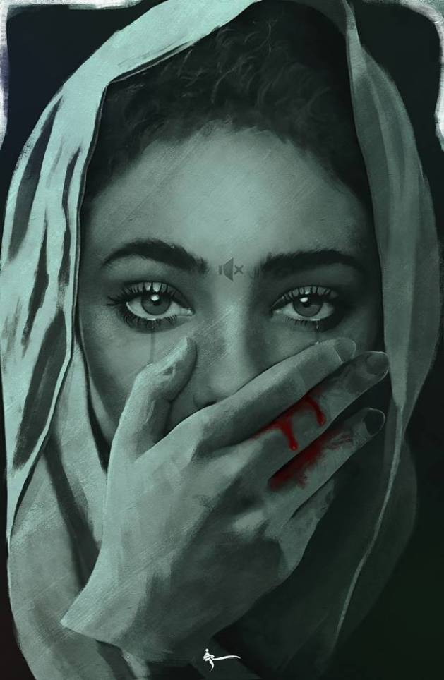 Depression, stress awareness month,  Sief Hamza,  Sief Hamza facebook,  Sief Hamza paintings,  Sief Hamza drawings,  Sief Hamza artist,  Sief Hamza fight against depression, Indian express, viral paintings, art and culture, amateur painters