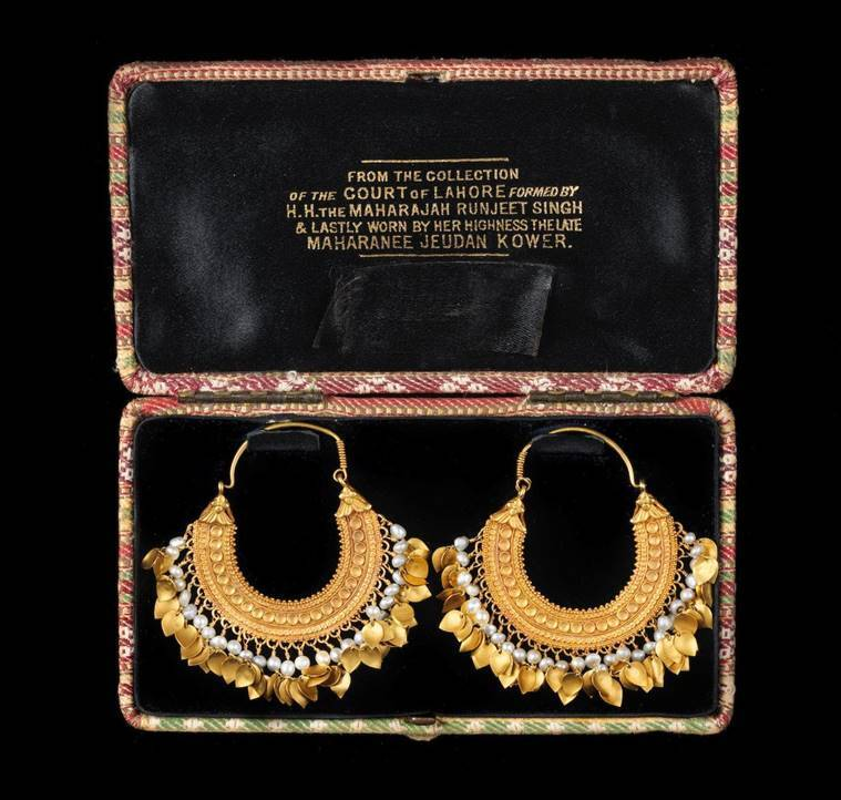 Sikh Queen's earrings fetch nearly six times auction estimate