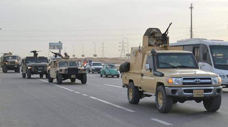 Egypt army says 8 soldiers, 14 militants killed in central Sinai