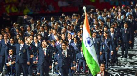 Commonwealth Games 2018 Opening Ceremony: PV Sindhu leads India to GoldCoast