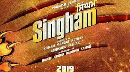 Punjabi remake of Singham starring Parmish Verma to release in 2019