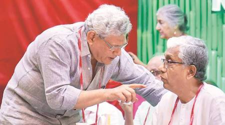 Re-elected as CPM general secy, Sitaram Yechury says BJP defeat first task