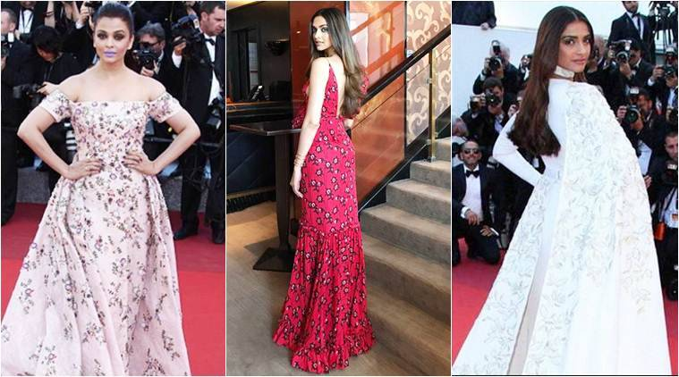 Aishwarya Rai Bachchan, Sonam Kapoor, Deepika Padukone, Cannes fest 2018, Cannes Film Festival, L'oreal Paris brand ambassadors, Julianne Moore, Helen Mirren, Doutzen Kroes, indian express