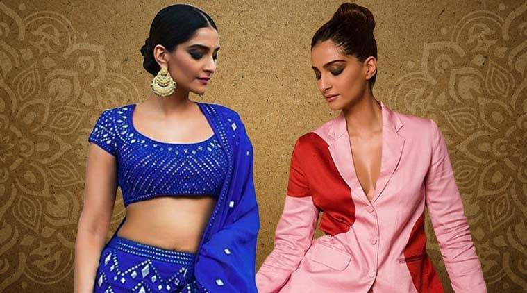 Veere Di Wedding Outfits.Veere Di Wedding Promotions Sonam Kapoor Takes Us On A Fashionable