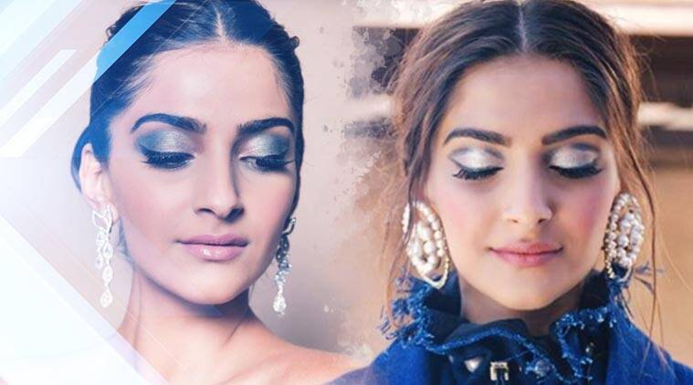 Sonam Kapoor, Namrata Soni, Sonam Kapoor make-up, Namrata Soni make-up, make-up tips, eye shadow tips, make-up trends, emerald green eyeshadow, how to apply eye shadow, celeb fashion, bollywood fashion, indian express, indian express news