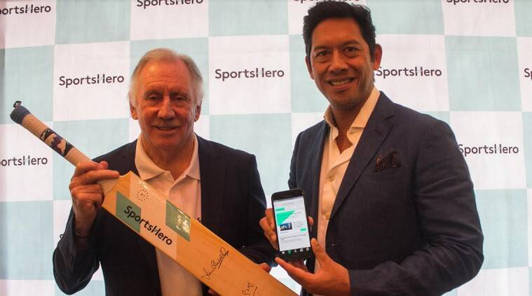 SportsHero, Android, app, fantasy sports, Android app, cricket, football