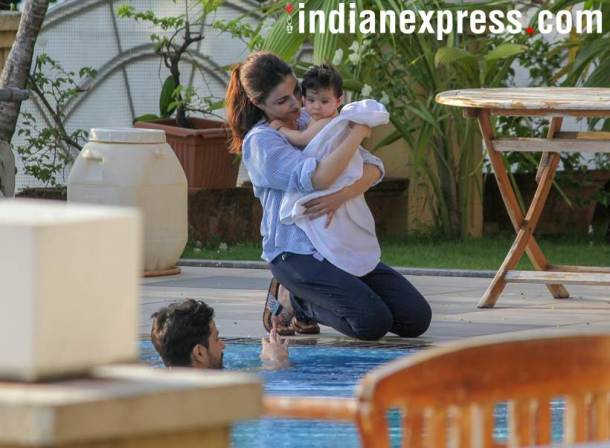 soha ali khan with inaya