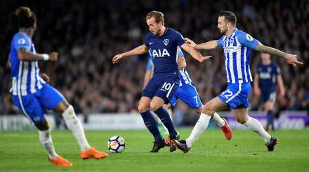 Tottenham Hotspur held to 1-1 draw by Brighton