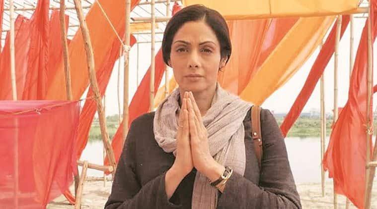 Sridevi in a still from Mom