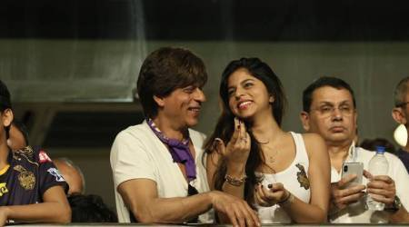 IPL 2018: Shah Rukh Khan's daughter Suhana steals the show at Kolkata's Eden Gardens; watch video