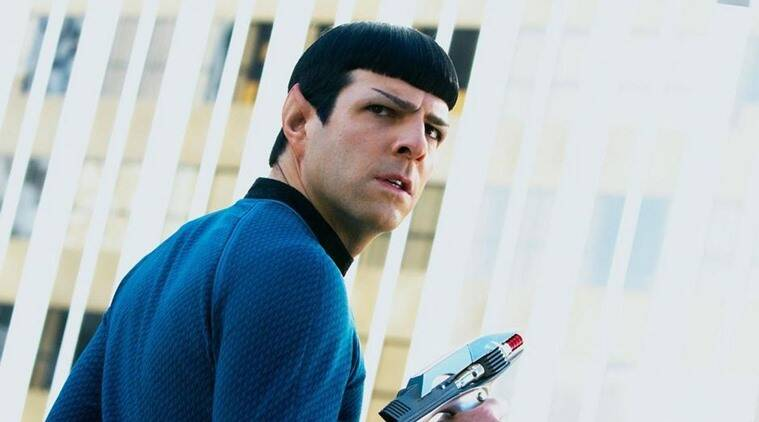 Image result for Zachary Quinto Star Trek