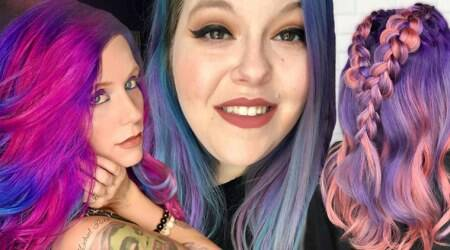 These Starbucks' Frappuccino-inspired hair colour trends are way toocolourful