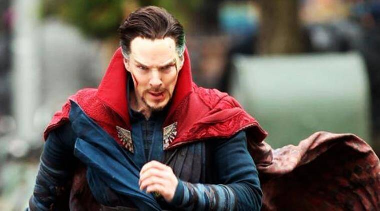 benedict cumberbatch as doctor strange in the marvel film