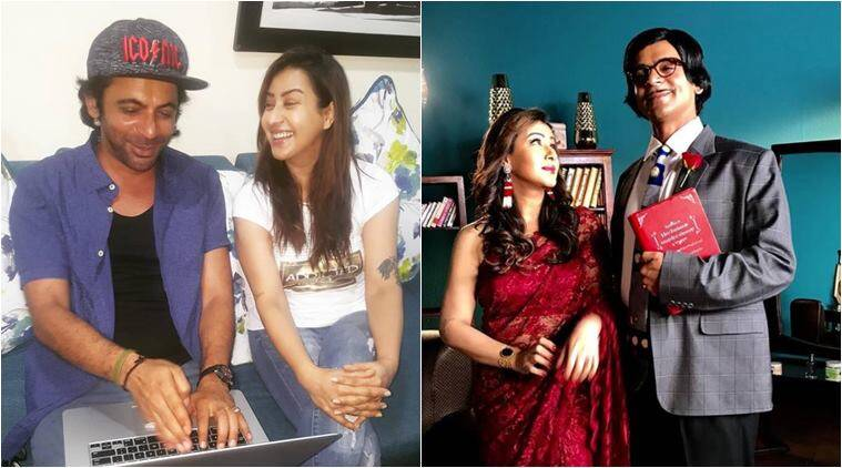 shilpa shinde and sunil grover show