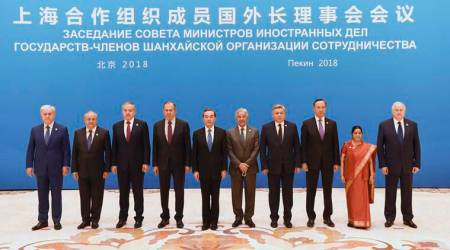 India strongly raises terrorism issue at SCO FMs' meet in China