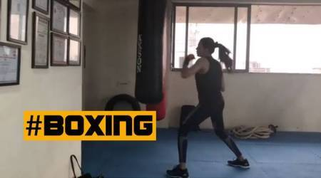 WATCH: Sushmita Sen boxes her way to a fit and fab form