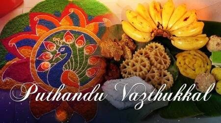 Tamil puthandu, puthandu festival, tamil new year, Puthuvarusham, Tamil Puthuvarusham, when is puthandu, puthandu celeberations puthandu in tamil nadu, tamil new year in tamil nadu, Tamil New Year celebrations, Tamil Nadu Puthuvarsham new year celebrations, Indian Express, Indian Express News Puthandu Happy New Year Happy New Year Happy New Year Tamil New Year 2018 New Year Images Happy Tamil New Year Images Tamil New Year Wishes Tamil New Year Quotes Tamil New Year Greetings