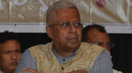 Tathagata Roy on delhi violence, Tathagata Roy tweet delete, Tiananmen Square tweet, tathagata roy on Tiananmen Square, indian express news
