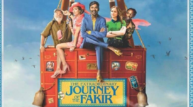 The Extraordinary Journey of The Fakir dhanush at cannes