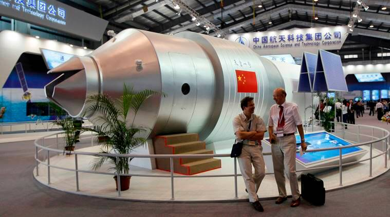 China space station Tiangong-1 crashed today