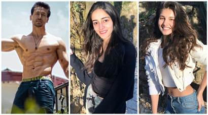 On the sets of Tiger Shroff, Ananya Panday and Tara Sutaria's Student of the Year 2